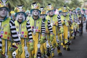 Aufmarsch der Clowns